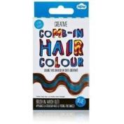 Creative Comb-In Hair Colour - Blue