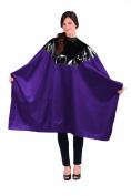 Betty Dain Signature Cosmix Chemical Cape, Purple, Snap Closure, 0.5kg