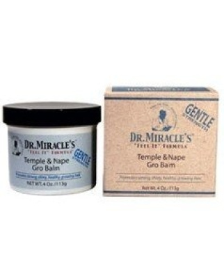 Dr. Miracle's Temple & Nape Gro Balm, Gentle