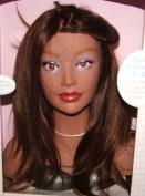 "Mannequin Courtney 100% Virgin European Real Hair 12""-36cm Long Miniature Dalit"