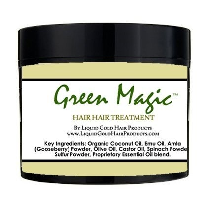 Green Magic Hair Growth Cream By Liquid Gold Products Online For Beauty In The United States