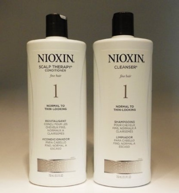 Nioxin System 1- Cleanser & Scalp Therapy Litre Duo Set