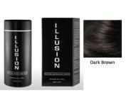 Illusion Hair Building Fibres, 25g / 25ml, Dark Brown