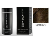 Illusion Hair Building Fibres, 25g / 25ml, Light Brown