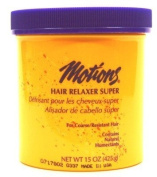Motions Hair Relaxer 440ml Super Jar (3-Pack) with Free Nail File