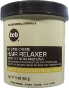TCB Professional Formula No Base Crème Hair Relaxer with Protein and DNA MILD STRENGTH 440ml/425g