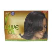 Olive Oil Sensitive Scalp No-Lye Relaxer Kit