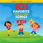 101 Favourite Sing-A-Long Songs For Kids  [3 Discs]
