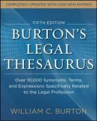 Burtons Legal Thesaurus 5th Edition