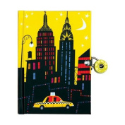 New York City Locked Diary
