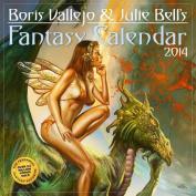 Boris Vallejo & Julie Bell's Fantasy Calendar 2014