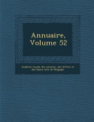 Annuaire, Volume 52 [FRE]