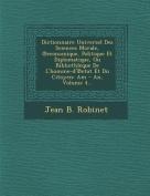 Dictionnaire Universel Des Sciences Morale, Economique, Politique Et Diplomatique, Ou Bibliothleque de L'Homme-D' Etat Et Du Citoyen