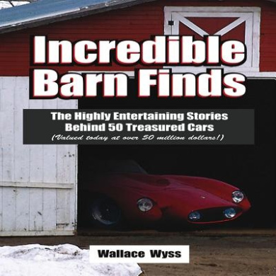 Incredible Barn Finds: The Highly Entertaining Stories Behind 50 Treasured Cars (Valued Today at Over 50 Million Dollars!)