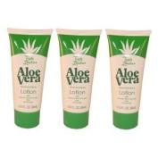 Triple Lanolin 3 - Pack 70ml Tubes Aloe Vera Hand & Body Lotion * 3 -pack