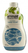 ATTITUDE, Hand Soap, Essential Oils Bergamot & Tangerine, 1040ml