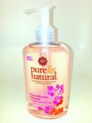 Pure & Natural Hand Soap, Moisturising Cherry Blossom and Almond, 250ml Pump