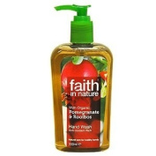 Faith in Nature Natural Hand Wash Pomegranate & Rooibos 300ml