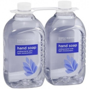 Members Mark, Simply Right Antibacterial Hand Soap, 2370ml-Blue