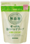 Miyoshi Soap | Hand Wash | Additive Free Soap Bubble Hand Soap Refill 300ml