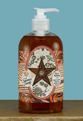 Dolce Mia Barn Star Leathery Western Natural Liquid Soap with Olive Oil 350ml Pump