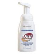Antimicrobial Healthcare Foaming Hand Soap, 7.5oz Tabletop Pump, 12/Carton
