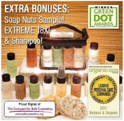 """NaturOli """"Ultimate"""" Mini / Trial Set - From truly natural skin & hair care to organic laundry & household cleaning. Includes Soap Nuts / Soap Berry products. Now with. ES!"""