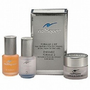 Nailtiques Formula 2 Kit Nail Treatment For Soft, Peeling, Bitten, Weak Or Thin Nails