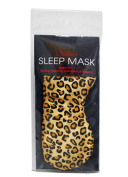 Swissco Satin Sleep Mask Leopard Print