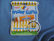 lotta luv snow cone Mango Flavoured Lip Balm