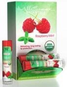 USDA Organic Lip Balm Rasberry Mint Mill Creek 0.15 Balm