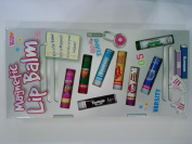 Varsity Magnetic Locker 8pc. Scented Lip Balm Set