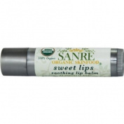 SanRe Organic Skinfood - Sweet Lips - 100% USDA Organic Lip Moisturiser For All Skin Types