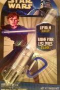 Star Wars Lip Balm Luke Skywalker Light Up Light Sabre With Carabiner Clip
