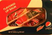 Pepsi & Mountain Dew Flavoured Lip Balm Set in Tin