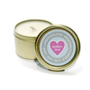 Daddy's Love Travel Candle