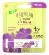 Hawaiian Tropic Lip Balm SPF# 45+ Tropical 4 gm