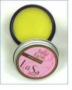 Lusa Organics Stretch & Grow Belly Balm - Naturally Nourishes and Helps Your Beautiful Skin Maintain Moisture - Prevent and Heal Painful Stretch Marks with Soothing Ingredients - All Natural with Certified Organic Ingredients - 50mls