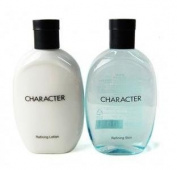 KOREAN COSMETICS, LG Household & Health Care_ Character Refining Skin & Lotion set. (Skin 350ml + Lotion 350ml) (men's cosmetics, Homme) [001KR]