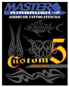 Brand New Helpful Airbrush Stencils 30 Temporary Tattoos Designs Design Book 5 Profession Popular Hot . Style Design Pattern