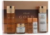 Korean Cosmetics_Cellio Gold Moisture Skin Care 3pc Set