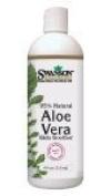 Aloe Vera Skin Soother 95% Natural 4 fl oz (118 ml) Gel