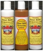 Hawaii Maui Babe Value Pack 1 Browning & 2 After Sun 240ml bottles