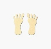 Feet Tanning Stickers 1000 ct