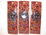 3 packets Naked Ambition Hypoallergenic Natural Bronzer .7z