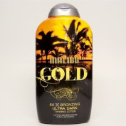 Malibu Tan GOLD 50X Level Bronzing Ultra Dark Tanning Lotion - 400ml