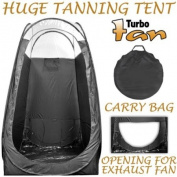 Professional Airbrush and Turbine Spray Tanning Tent Booth with Nylon Carrying Bag
