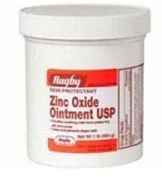 Zinc Oxide 20 % Skin Protectant Ointment for Nappy Rash, Chaffed Skin 0.5kg. Jar Pack of 4 Jars Total 0.5kg's