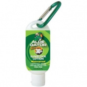 Aloe Gator SPF 30 Lotion w/ Carabiner