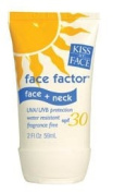 Kiss My Face SPF 30 Face Factor Sunscreen for Face and Neck